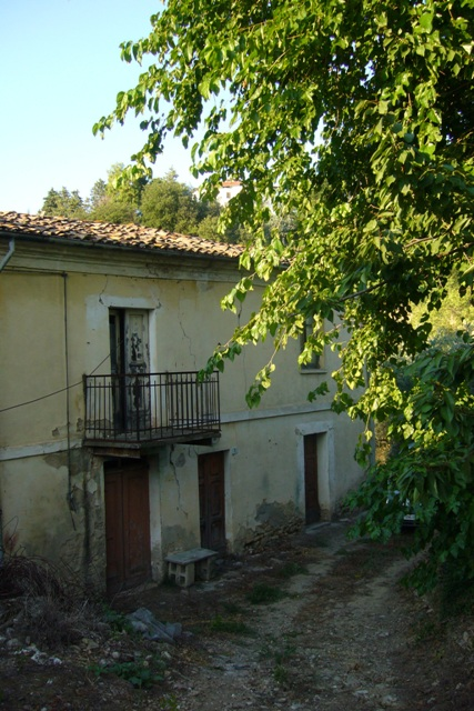 two beds and garden in Lanciano center